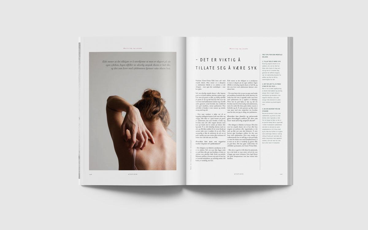 ohHello Design Project | Magazine - Atopiker Spread