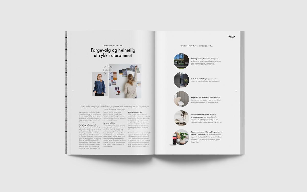 ohHello Design Project | Design av fargekart Butinox Futura