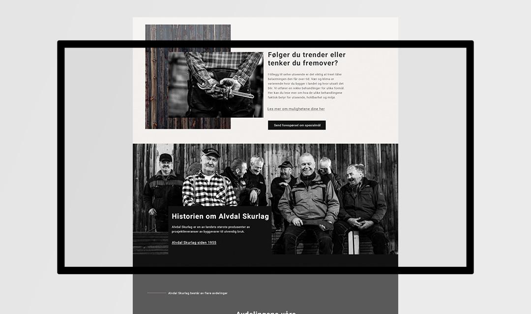 ohHello Design Project | Webdesign Alvdal Skurlag