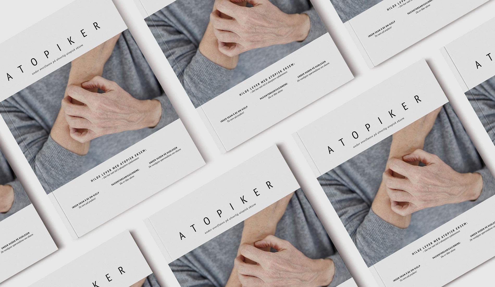 ohHello Design Project | Magazine - Atopiker Cover